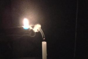 candle ロウソク再着火
