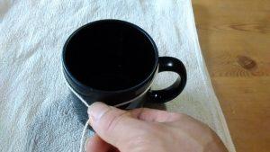 measure_circumference_cup コップの円周を測る