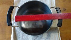 measure_diameter_pan 鍋の直径を測る