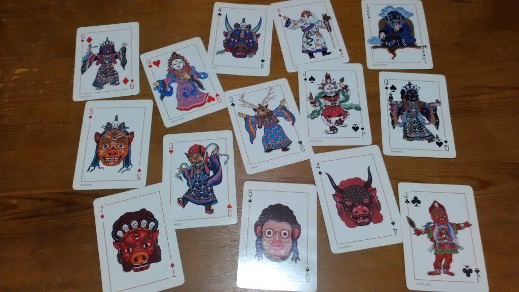 card mongol