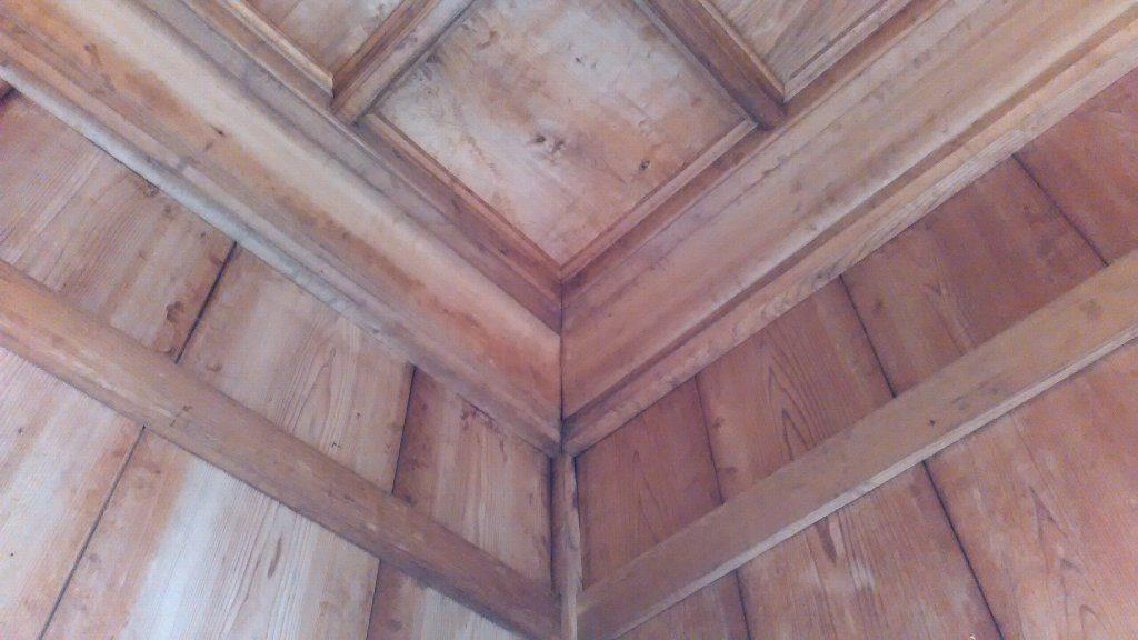 ③④格天井と廻り縁