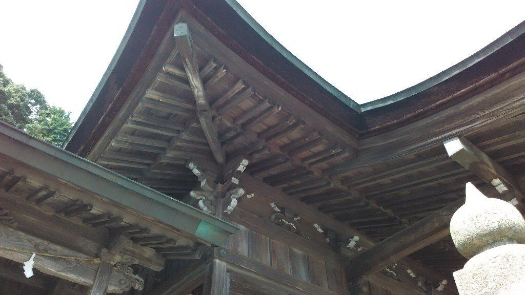 隅木と垂木
