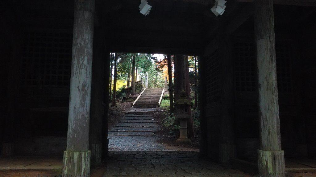 随神門から奥宮