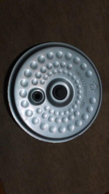 炊飯器のフタ。使用前