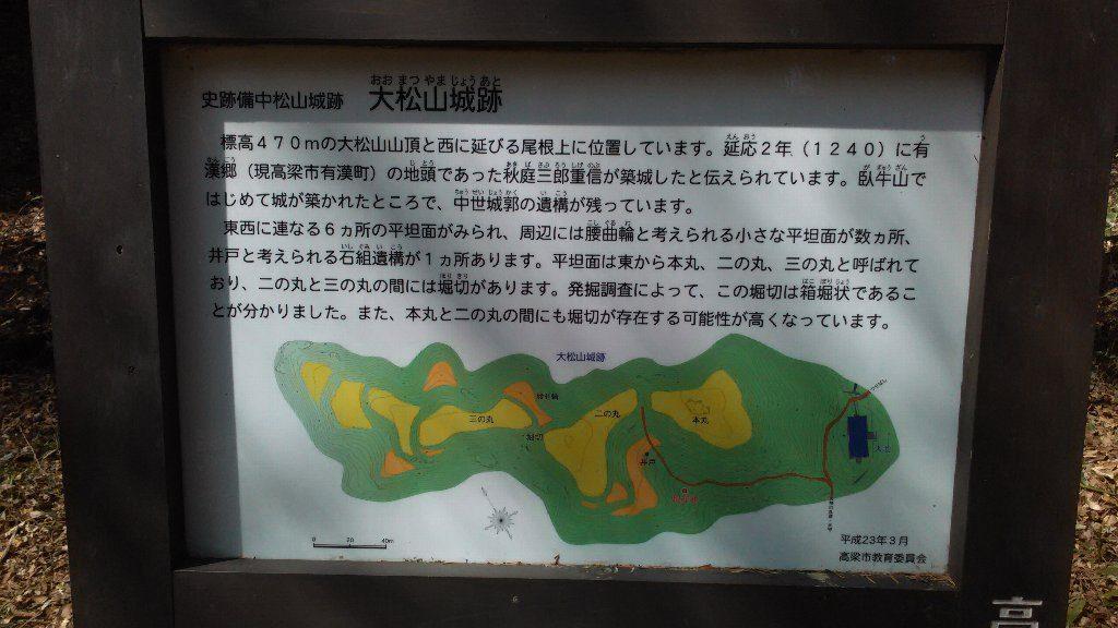 大松山。能書2
