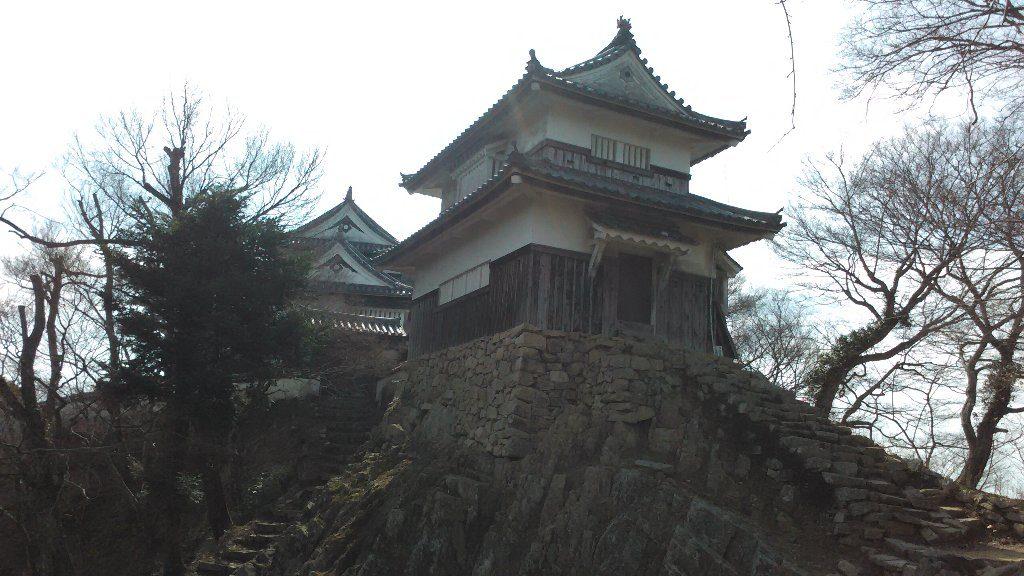 二重櫓と天守閣2