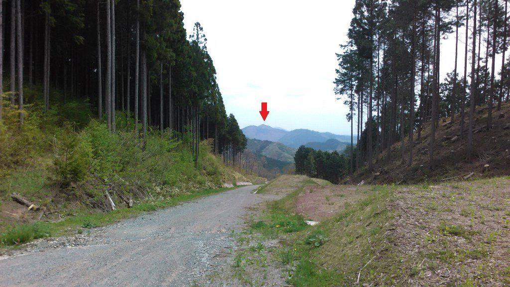 星山ピーク848m