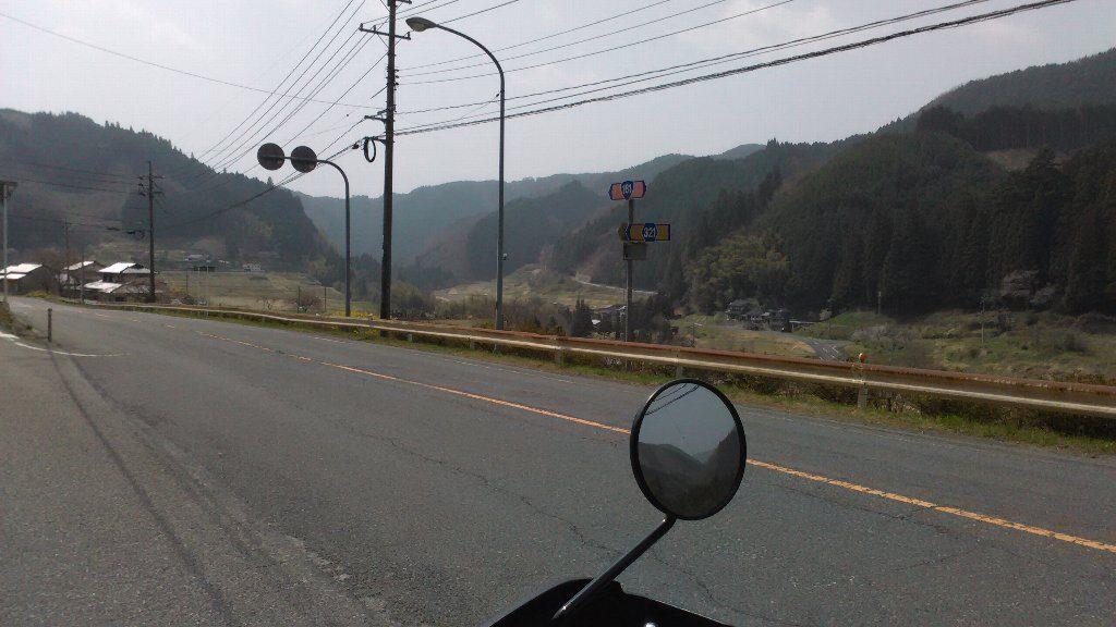 本郷。入口。国道181。県道321
