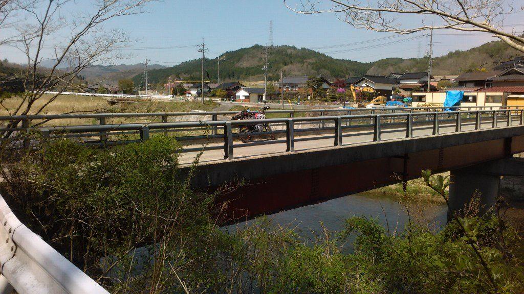 野田橋。セロー