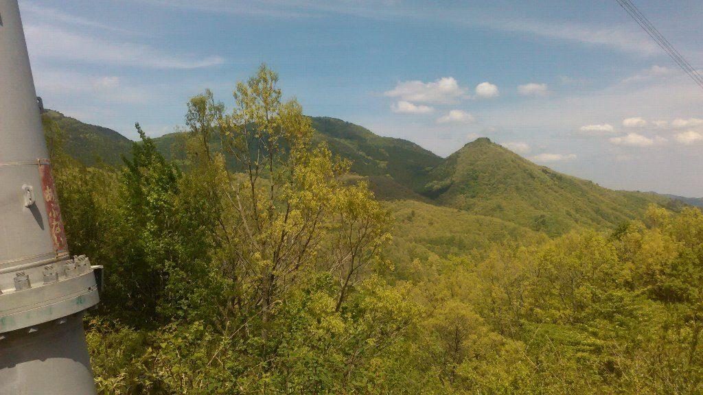 星山と前山