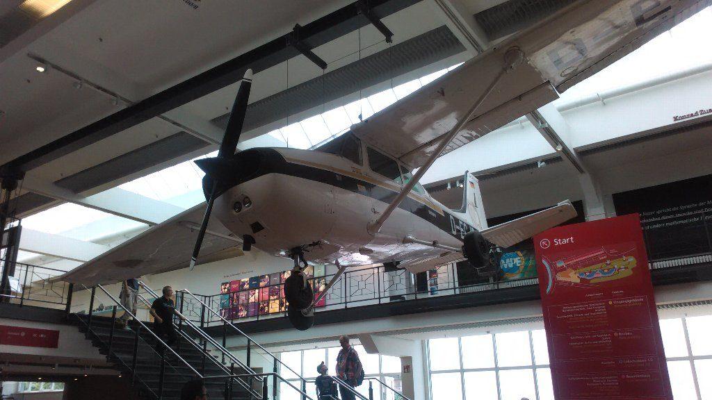 飛行機。天井