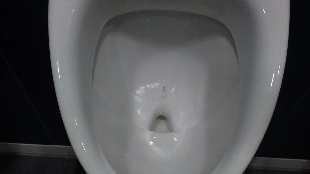トイレのロウソク。