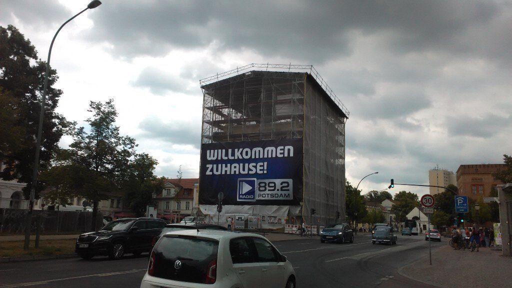 Brandenburger Tor 修理中