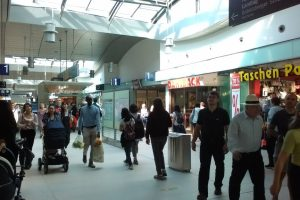 ポツダム駅。インフォメーション