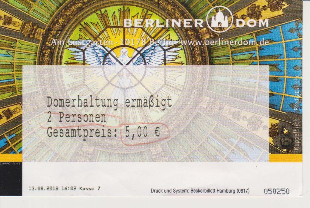 Berliner Dom ベルリン大聖堂