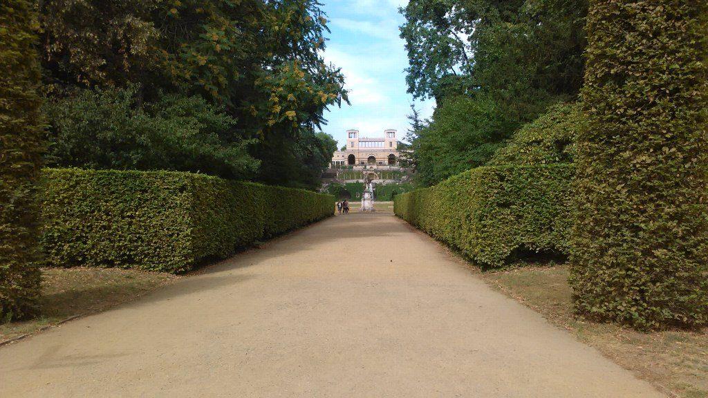 Orangerie Schloss オランジュリー宮殿