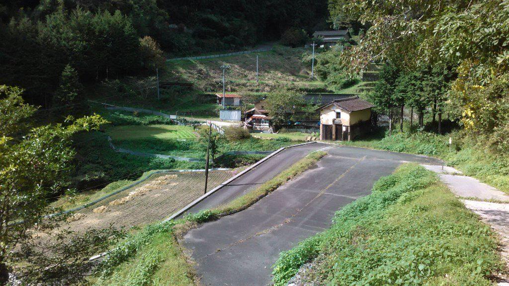 登山道から駐車場2