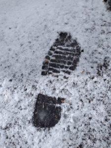 ふつうの足跡1