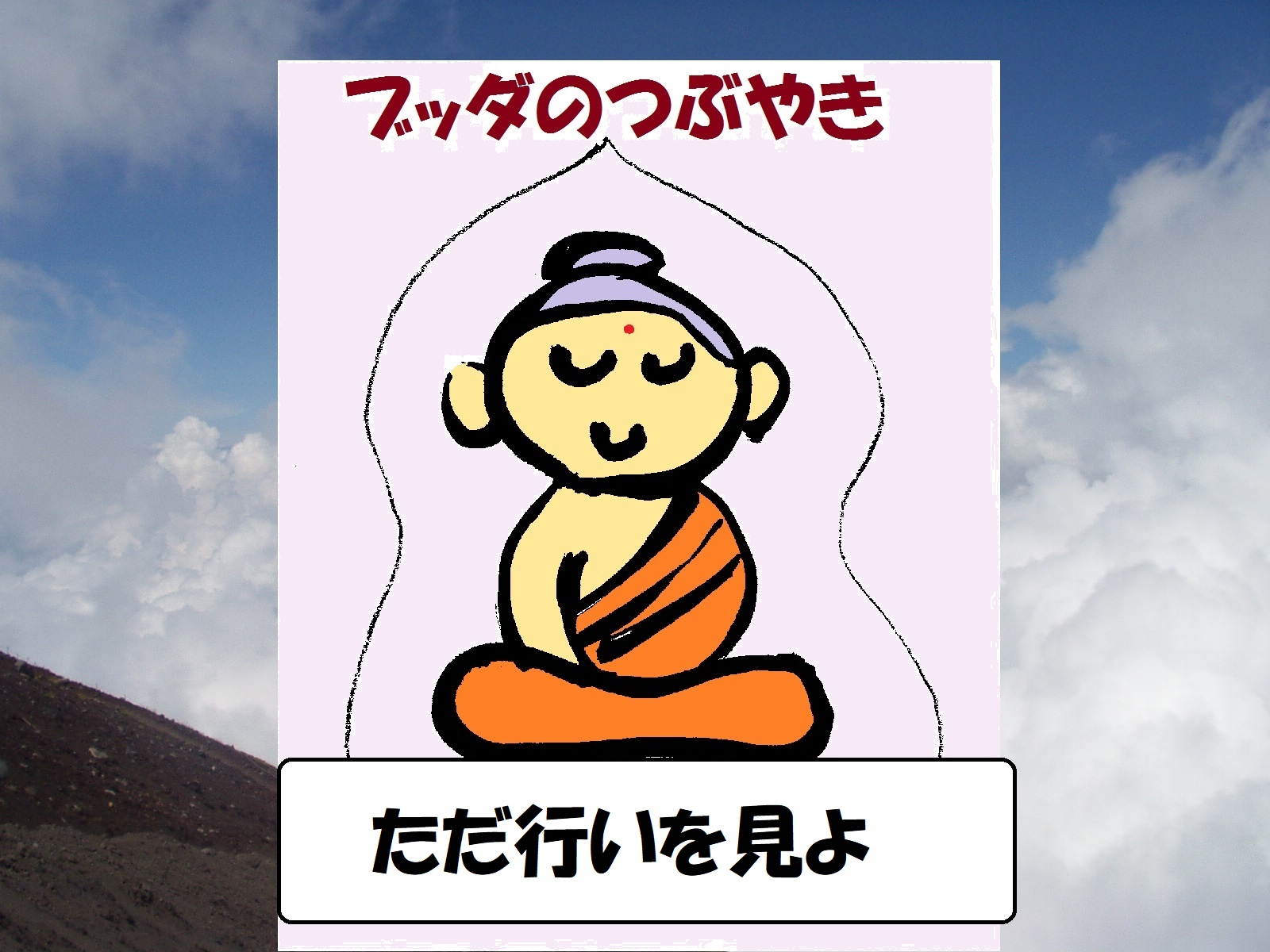buddha behavior 行い