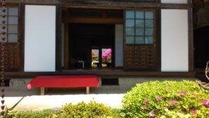 福聚院、窓枠