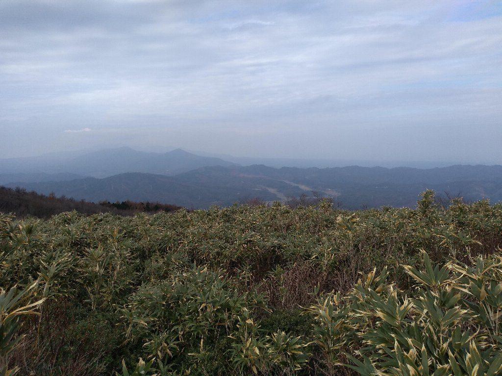 蒜山と大山