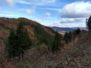 山乗峠から羽出西谷