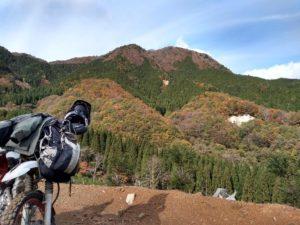 伐採広場から山乗山