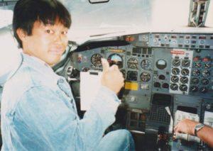 cockpit どこかへ移動中。ローカル線0903