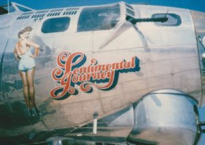 B17 sentimental journey picture