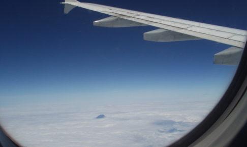 富士山、窓