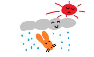 rain daytime