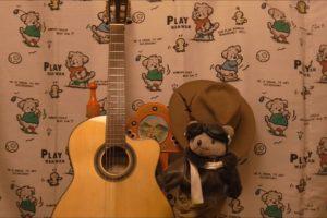 guitar and bear ギターとクマ720jpg