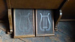 organ pedal オルガン。ペダル