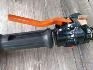 throttle lever スロットル・レバー