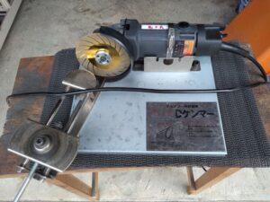 grrinder グラインダー。刃研ぎ機