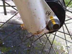 front bolt
